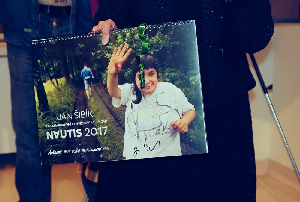 Křest charitativního a osvětového kalendáře NAUTIS 2017