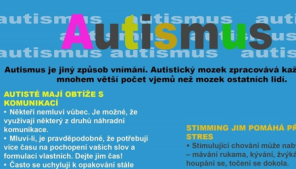 Tvořte s námi leták o autismu