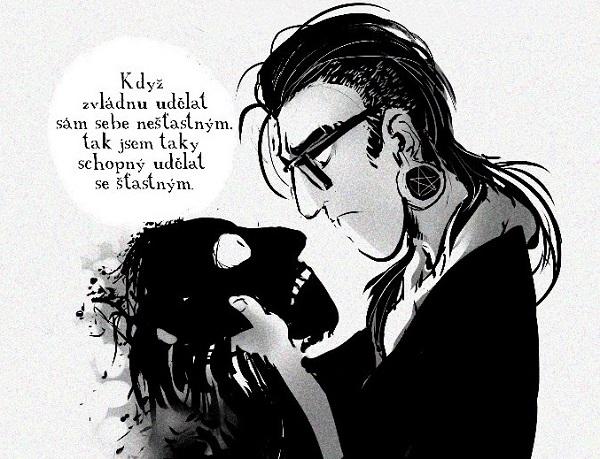 Komiks Isaac vúzkých