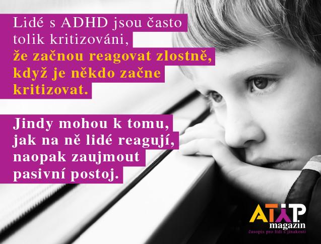MUDr. Hogenbuchová: ADHD u dospělých je závažný syndrom 2