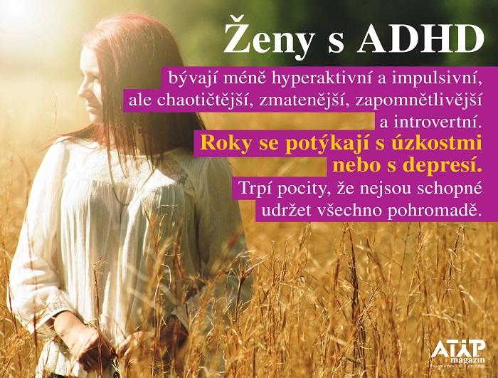 MUDr. Hogenbuchová: ADHD u dospělých je závažný syndrom 4