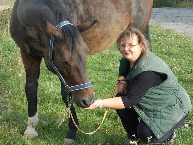 Schizofreničku léčí koně 2