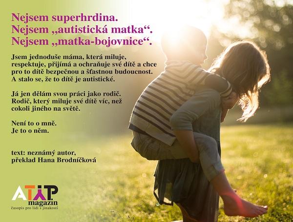 Existují dokonalé matky autistických dětí?