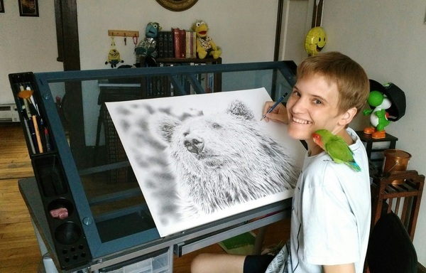 Autistický savant Remrov: Neverbální autista může být schopný fungovat lépe než autista, který umí mluvit