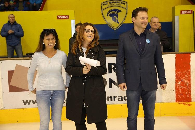 Charitativní zápas: První modrý gól dal Okál