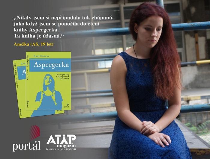 Do knihy Aspergerka jsem se ihned ponořila 3