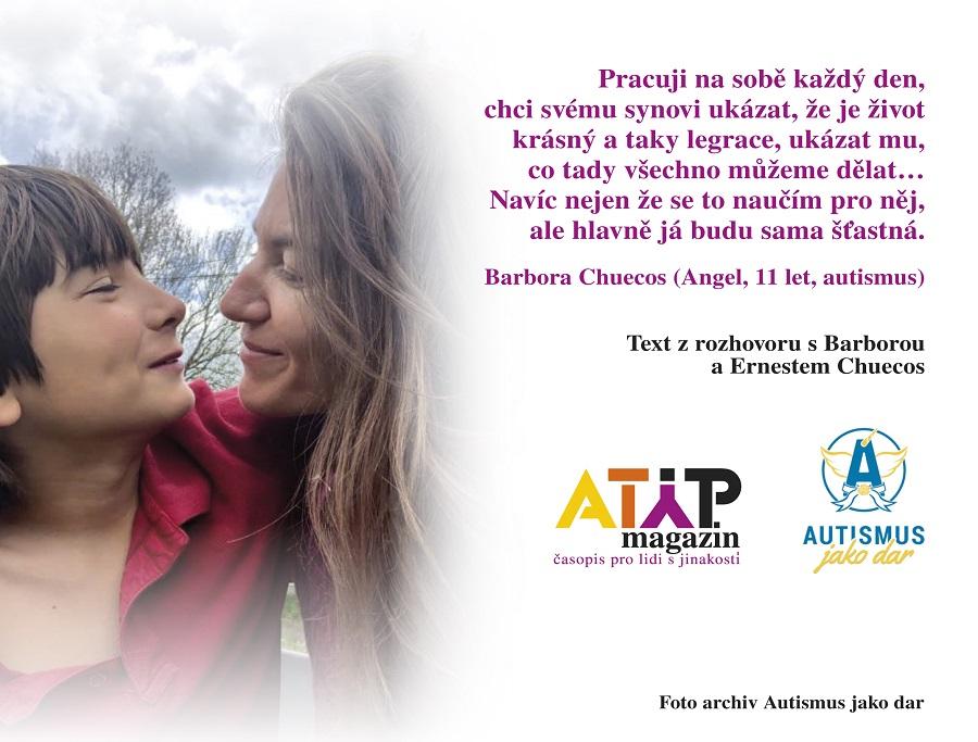 Manželé Chuecos: Autisté pomáhají nám, ne my jim 2