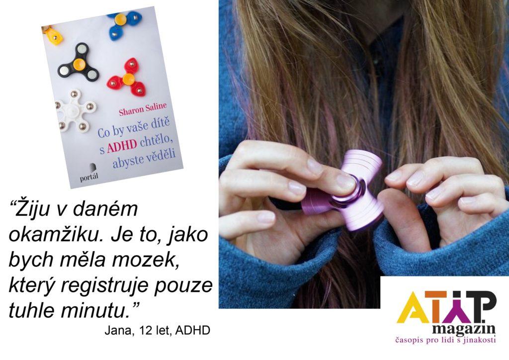 U60 % dětí s ADHD přetrvávají symptomy celý život