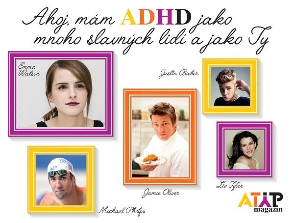 U60 % dětí s ADHD přetrvávají symptomy celý život 3